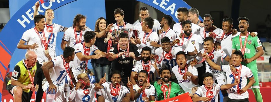 ISL 2017-18: Chennaiyin conquer Bengaluru FC in their own backyard to lift 2nd title in thrilling fashion