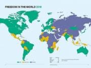 Global freedom on decline for past 12 years, says report: 71 countries suffer decline in political rights and civil liberties