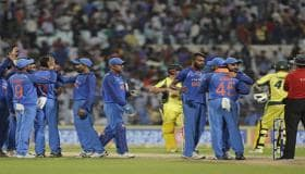 India vs Australia: From Kuldeep Yadav's hat-trick to Hardik Pandya's close shave, memorable moments from 2nd ODI