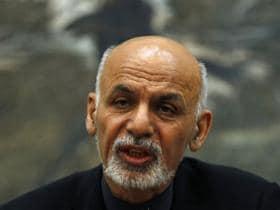 President Ashraf Ghani in New Delhi on Tuesday