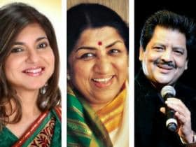 Noted singers Udit Narayan, Alka Yagnik to be conferred with the Lata Mangeshkar Award