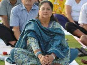 Vasundhara Raje backs down on 'gag order', but will pay