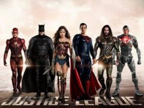 Justice League review? Well, we wouldn't call it a review, but then it's about a review... and then, maybe not