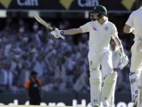 Ashes 2017-18: Steve Smith drags Australia back from brink on a see-sawing Day 2 in Brisbane Test