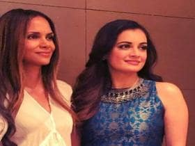 Dia Mirza says it was remarkable to discuss climate change with a global star like Halle Berry