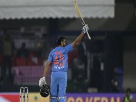 Rohit Sharma's 35-ball century and Indian spinners blow Sri Lanka away as hosts claim series 2-0