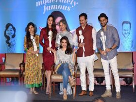 Soha Ali Khan launches first book 'The Perils Of Being Moderately Famous' in presence of Pataudi clan