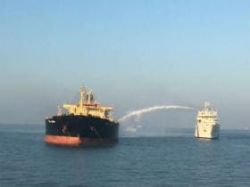 Fire engulfs oil tanker MT Genessa off Gujarat's Kandla port; Coast Guard rescues 26 crew members