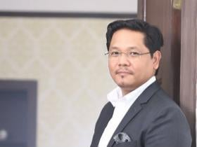 Meghalaya CM Conrad Sangma says state faces financial, administrative challenges; resolves to spur development