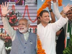 2018 C-Voter survey poll shows Modi bests Rahul in PM showdown, BJP repeats 2014 success; Rajinikanth as kingmaker