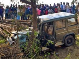 Speeding vehicle kills 9 children in Bihar: Police, Tejashwi Yadav say car belonged to BJP leader; party denies charge