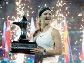 Dubai Tennis Championships: Elina Svitolina defends title with crushing win over Daria Kasatkina in final