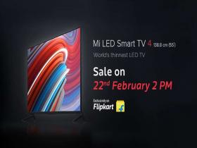 Flipkart lays the foundation of the future of TV's with its exclusive 55-inch Mi LED Smart TV 4