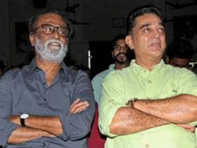 Kamal Haasan calls on Rajinikanth in Chennai; actor says it was courtesy call and not political meeting