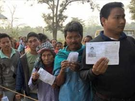 Tripura election: Parties slam EC as 'faulty EVMs delay voting'; poll body says 'not all complaints genuine'