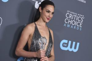Gal Gadot, Gary Oldman, The Shape of Water win at 2018 Critics' Choice Awards