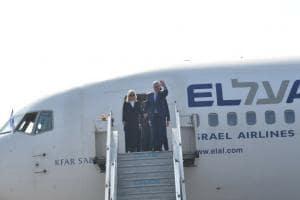 Benjamin Netanyahu arrives in New Delhi for six-day visit; Narendra Modi receives Israeli PM at airport