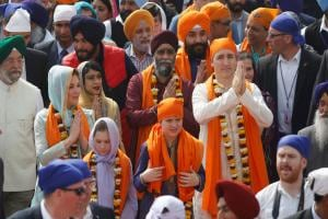 Justin Trudeau in India: Canadian PM meets Punjab CM Amarinder Singh; visits Golden Temple