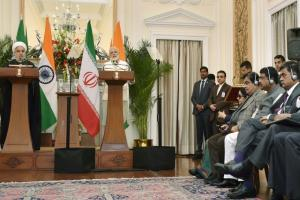 India, Iran ink nine agreements after delegation-level talks led by Narendra Modi and Hassan Rouhani in Delhi