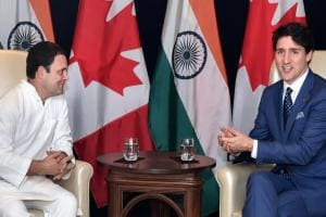 Justin Trudeau in India: Rahul Gandhi meets Canadian PM, discusses range of issues concerning two countries