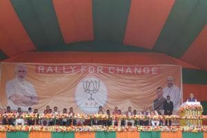 Narendra Modi in Meghalaya: PM says state not safe in hands of Congress, appeals to give BJP a chance