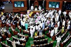 Budget Session of Parliament: Lok Sabha, Rajya Sabha adjourned for ninth day as protests continue