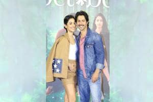 Varun Dhawan, Banita Sandhu, Shoojit Sircar launch trailer of upcoming romantic drama October