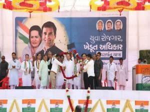 Rahul Gandhi wraps up three-day Gujarat tour ahead of Assembly polls; addresses rallies in Valsad, Surat