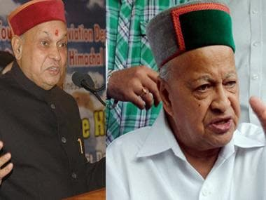 Himachal Pradesh Election Results 2017: Political families take centre stage as Virbhadra Singh, Prem Kumar Dhumal lock horns