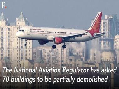 70 Mumbai buildings to be partially demolished to clear flight path