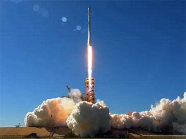SpaceX two stage Falcon 9 launch vehicle deploys South Korean communications satellite to a geostationary transfer orbit
