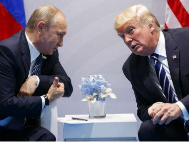 Vladimir Putin thanks Donald Trump for CIA's help in thwarting Saint Petersburg attack
