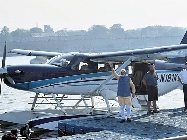 Gujarat elections 2017: Why PM Narendra Modi's seaplane ride sends mixed signals to his legions of followers