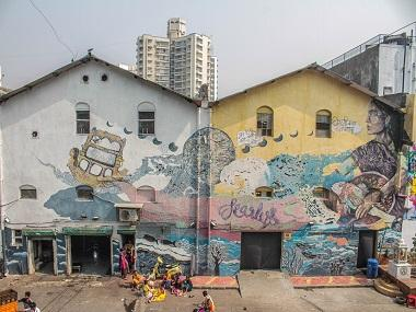 Street art comes to Sassoon Docks: Mumbai's historic fishing district gets a makeover with the St+Art project