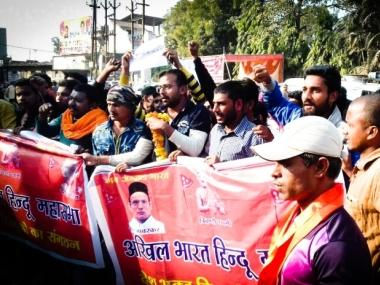 By worshipping Nathuram Godse and with new political goals, Hindu Mahasabha trying to claim position of India's main Hindu party