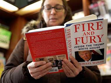 Fire and Fury review: A year into Donald Trump's term, Michael Wolff's tell-all book is as flaky as its subject