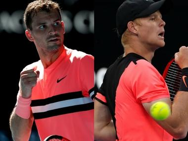 LIVE Australian Open 2018, tennis score and updates, quarter-finals match: Grigor Dimitrov drops 1st set to Kyle Edmund