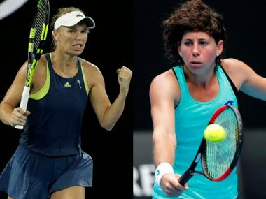 LIVE Australian Open 2018, tennis score and updates, quarter-finals match: Caroline Wozniacki wins 1st set