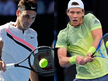 LIVE Australian Open 2018, tennis score and updates, quarter-final match: Roger Federer wins 1st set vs Tomas Berdych