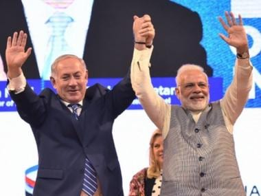 In Gujarat, Narendra Modi vies to double farmer income by 2022; Benjamin Netanyahu says Israel will help India achieve its vision
