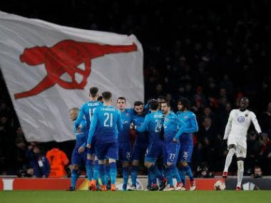 Europa League: Arsenal suffer shock defeat at home but move into last-16 on aggregate; Serie A leaders Napoli ousted