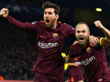 Champions League: Lionel Messi ends drought against Chelsea to give Barcelona crucial away goal; Bayern Munich thrash Besiktas