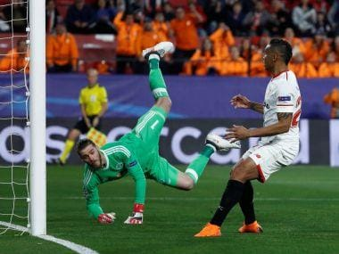 Champions League: David de Gea's heroics help Manchester United hold Sevilla; Shakhtar Donetsk edge AS Roma