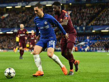 Chelsea vs Barcelona, Champions League, R-16, 1st leg, Live score and updates: Willian's goal puts hosts ahead