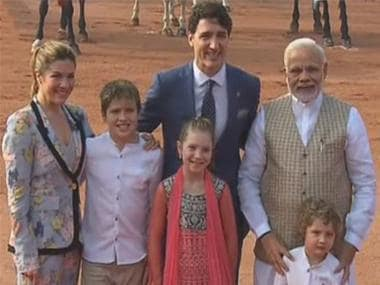 Justin Trudeau in India LIVE updates: In joint statement, Canada PM hails 'natural friendship' with India