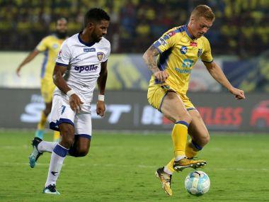 ISL 2017-18: Chennaiyin FC inch closer to semi-final spot after holding Kerala Blasters to goalless draw