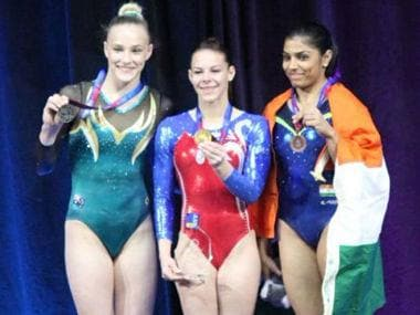 Aruna Budda Reddy clinches historic bronze, becomes first Indian gymnast to win medal at Gymnastics World Cup