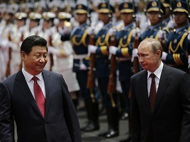 The politics of Vladimir Putin and Xi Jinping: Autocrat presidents for life who may lead Russia and China down a similar road