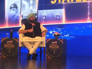 News18's Rising India Summit: Punjab chief minister Amarinder Singh says Arvind Kejriwal has isolated himself
