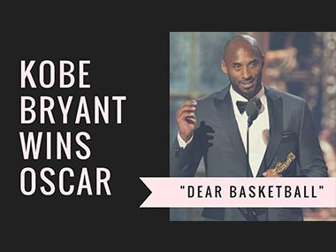 Oscars 2018: Kobe Bryant wins Academy Award for Dear Basketball in best animated short film category